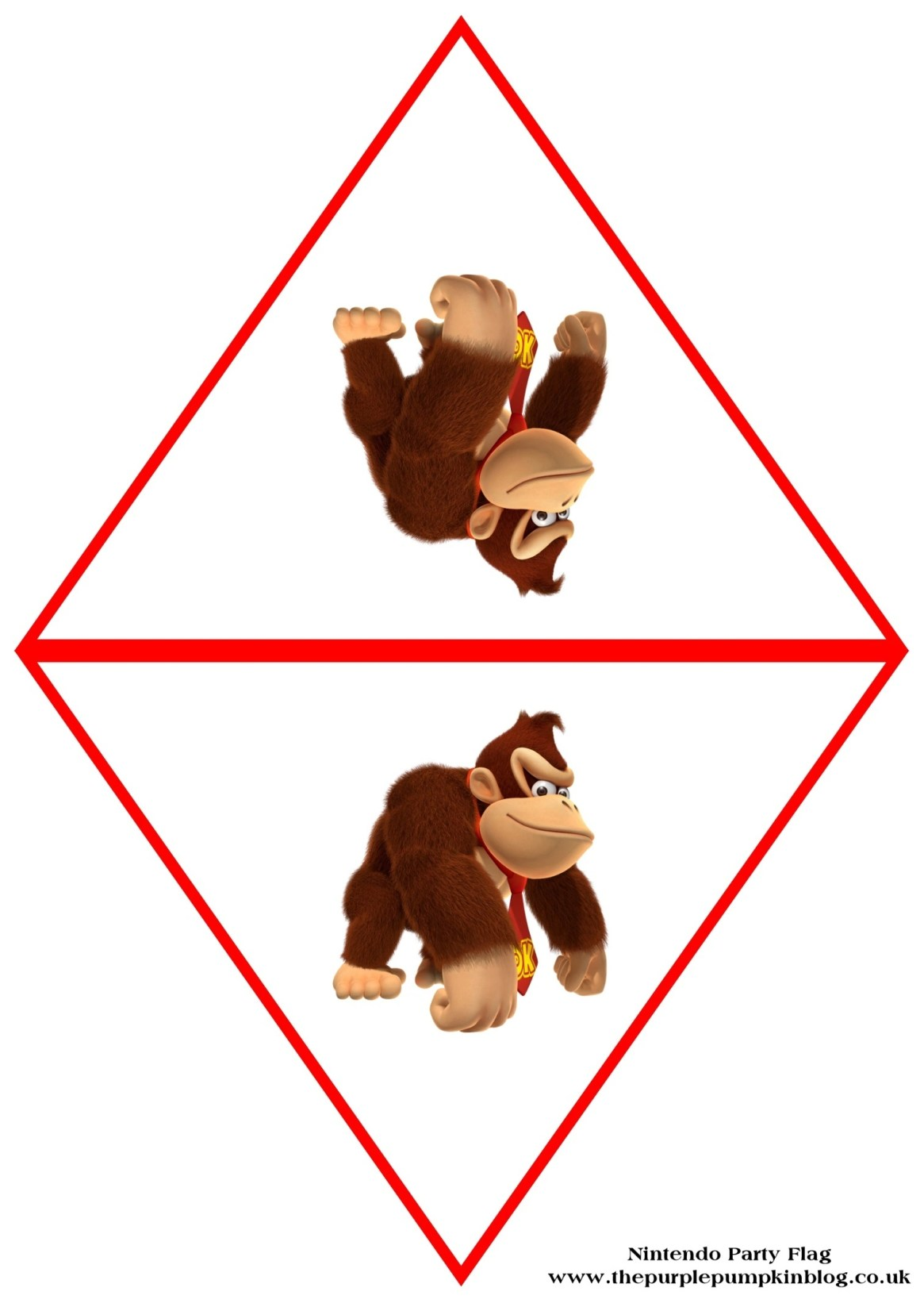 nintendo-party-flag-donkey-kong