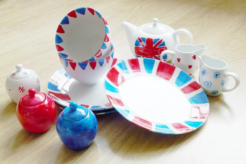 Hand Painted Crockery