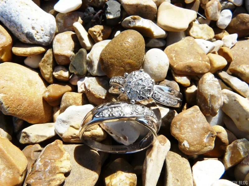 Diamond & White Gold Wedding & Engagement Rings