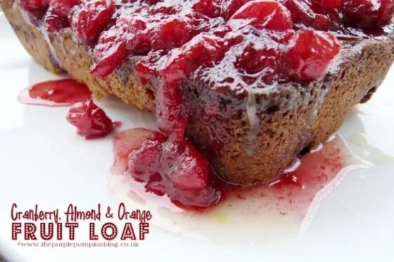 Cranberry, Almond and Orange Fruit Loaf