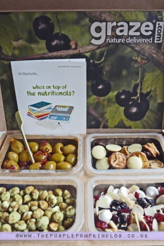 My 6th Graze Box
