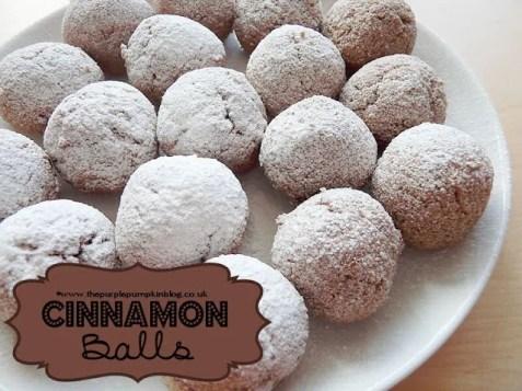 Cinnamon Balls