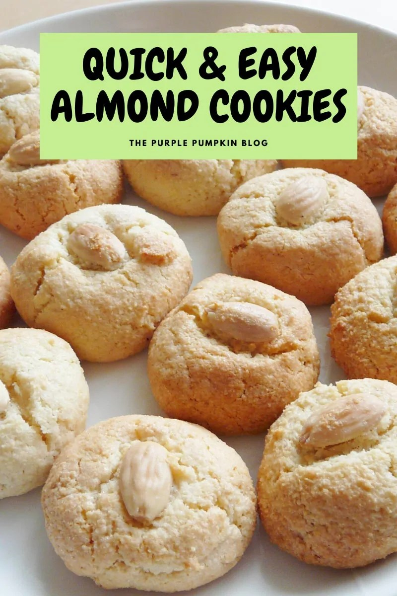 Quick & Easy Almond Cookies