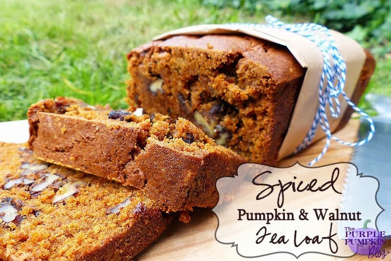 Spiced Pumpkin and Walnut Tea Loaf