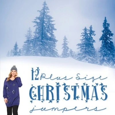 12 Plus Size Christmas Jumpers