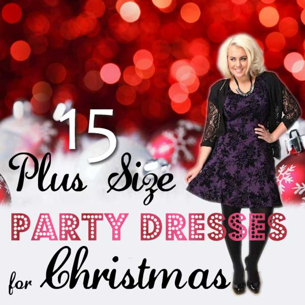 15 Plus Size Party Dresses for Christmas