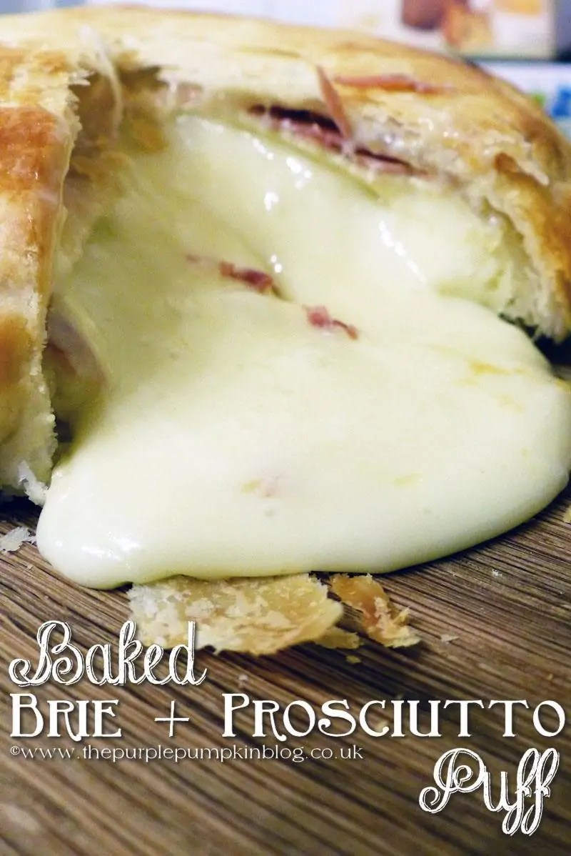 Baked Brie and Prosciutto Puff