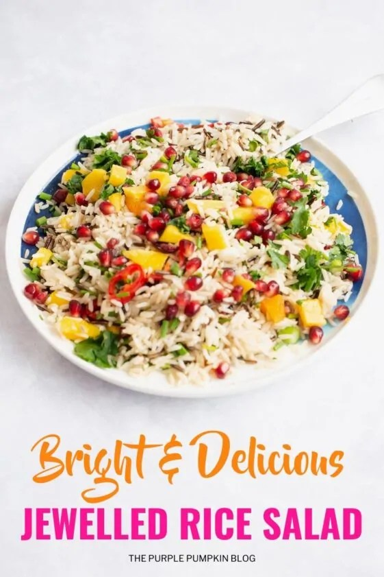 Bright & Delicious Jewelled Rice Salad