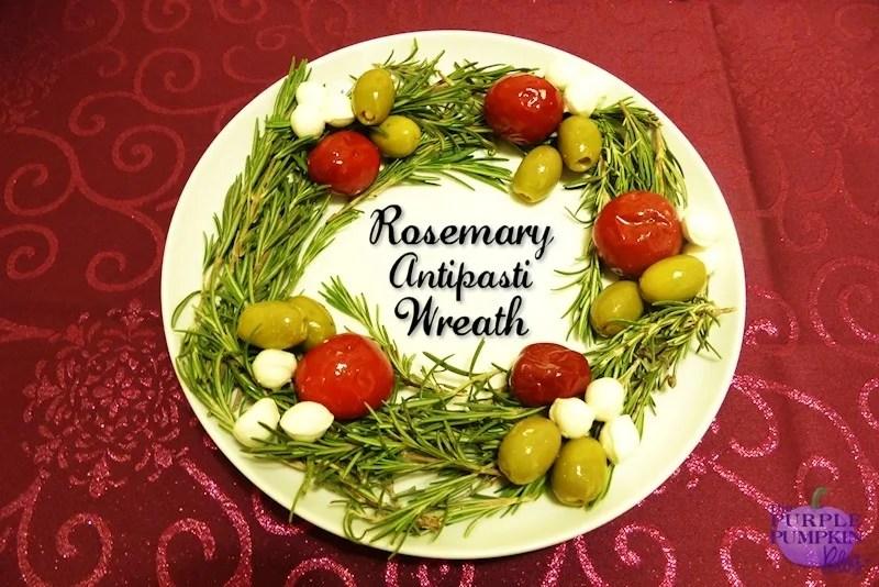 Rosemary Antipasti Wreath