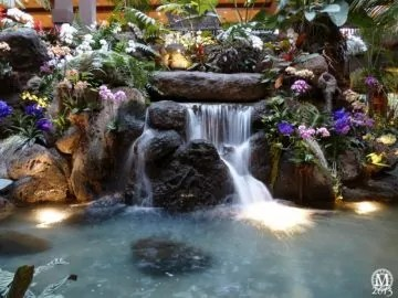 polynesian-resort-waterfall