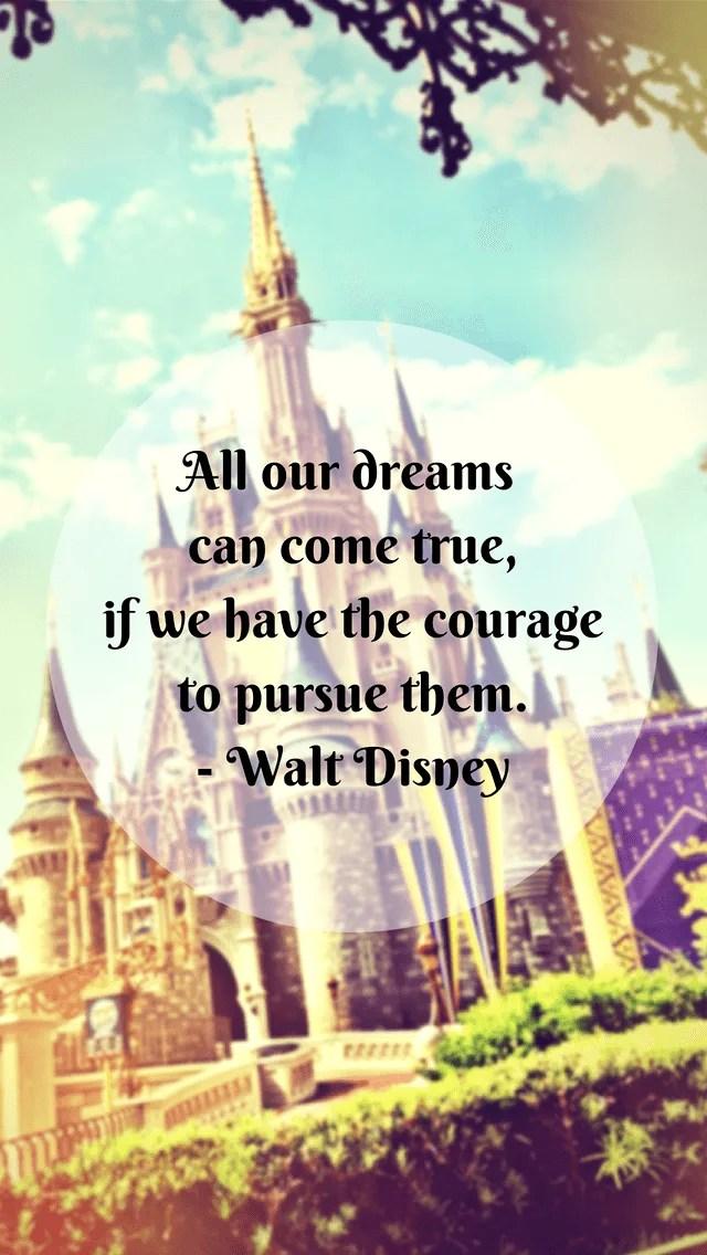 Disney Wallpaper Quotes