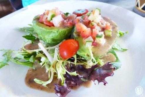 Avocado Salad at Bongos Cuban Cafe