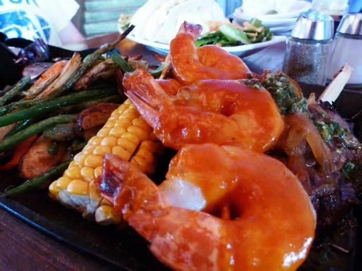 Shrimp at Paradiso 37