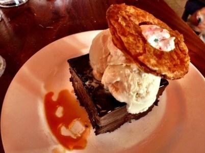 Chocolate Cake at Paradiso 37