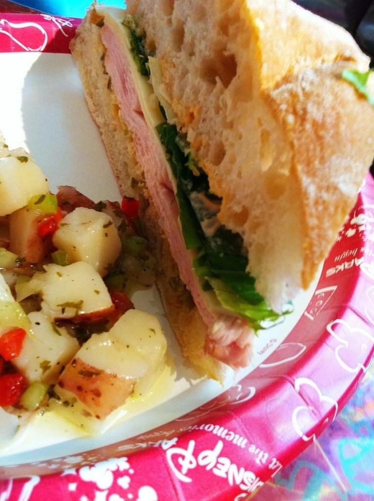 Reuben Sandwich at Epcot