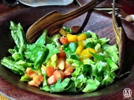 Salad at 'Ohana
