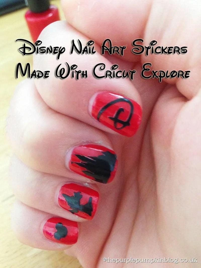disney nail art #100daysofdisney