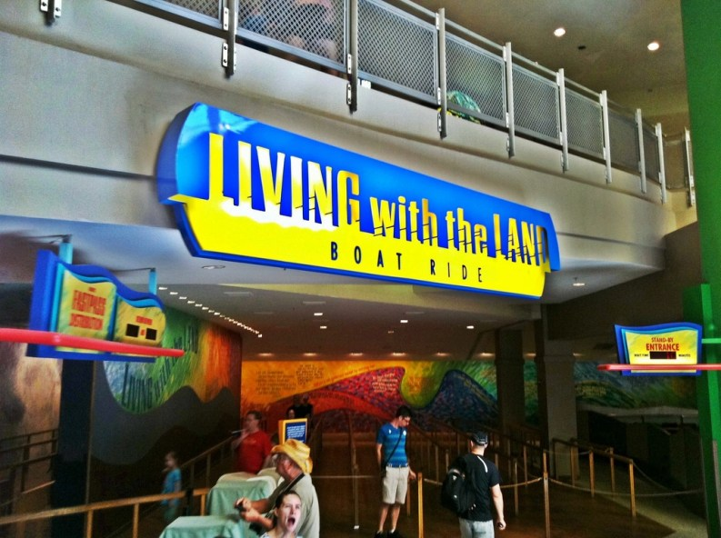 living-with-the-land-sign