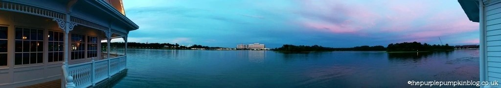 View Across Seven Seas Lagoon