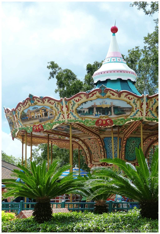 Carousel at Downtown Disney