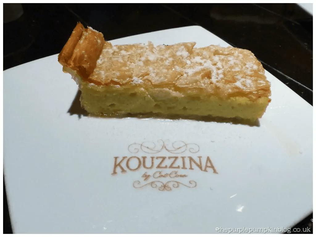 Kouzzina by Cat Cora Galaktoboureko