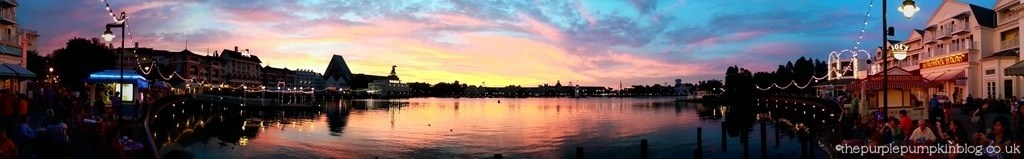 Disney Boardwalk Panoramic