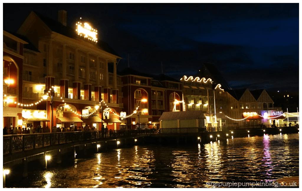 Disney Boardwalk at Night