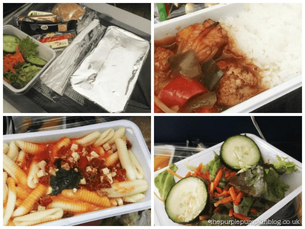 Delta Airlines Lunch - Heathrow - Atlanta - Orlando 2