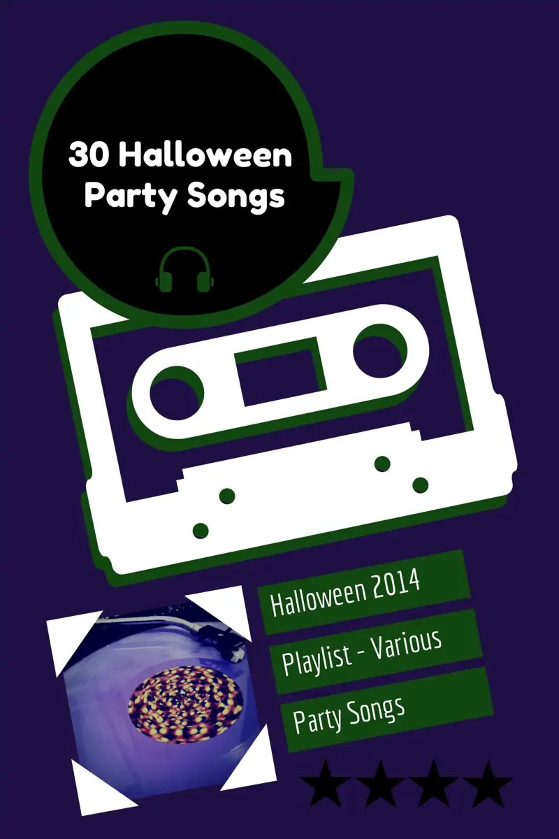 30 Halloween Party Songs #CraftyOctober » The Purple Pumpkin Blog