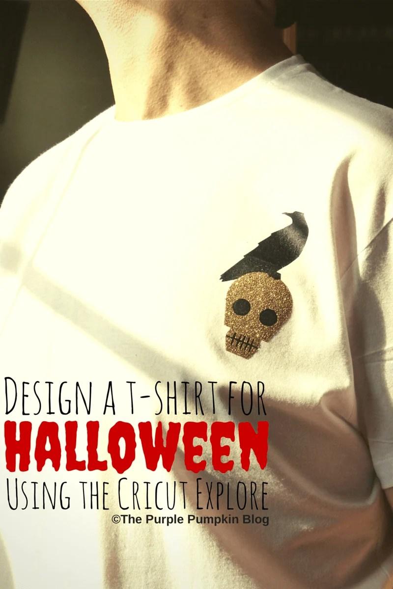 Design a T-Shirt for Halloween using the Cricut Explore