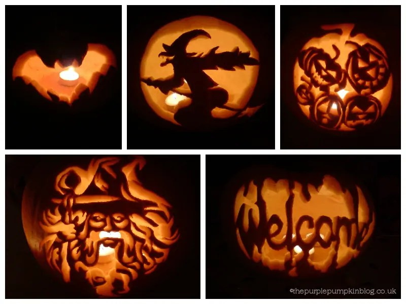 Pumpkin carving patterns craftyoctober