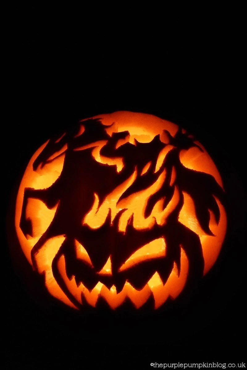The Headless Horseman Pumpkin Carving