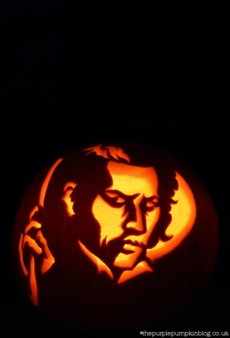 Sweeney Todd Pumpkin Carving