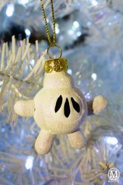 Mickey Mouse Glove Christmas Ornament