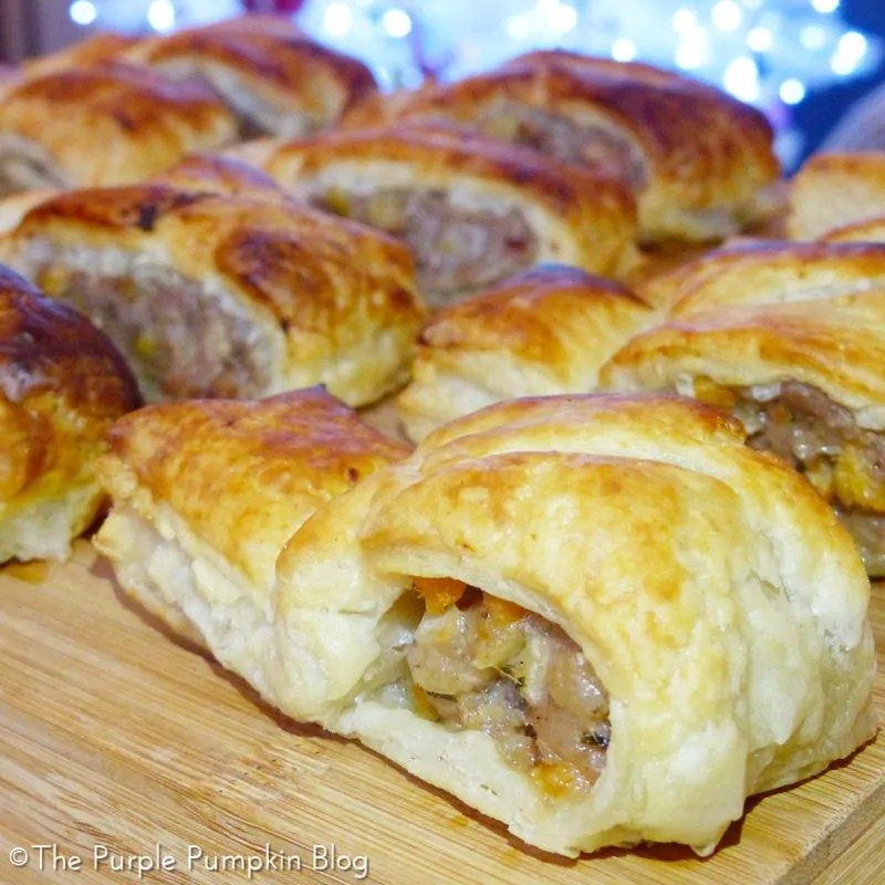 Festive Homemade Sausage Rolls