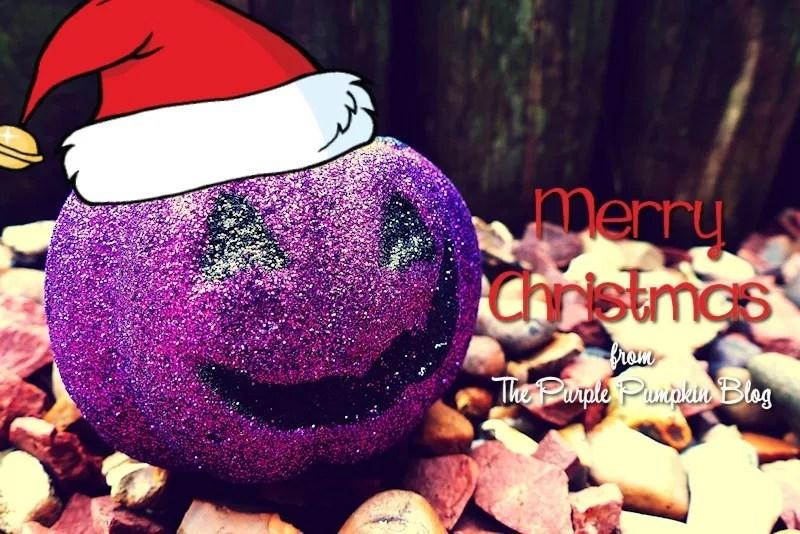 Merry Christmas from The Purple Pumpkin Blog