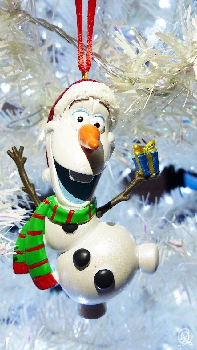 Olaf Christmas iPhone5 Wallpaper