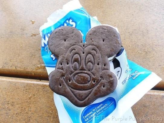 Mickey Ice Cream Sandwich