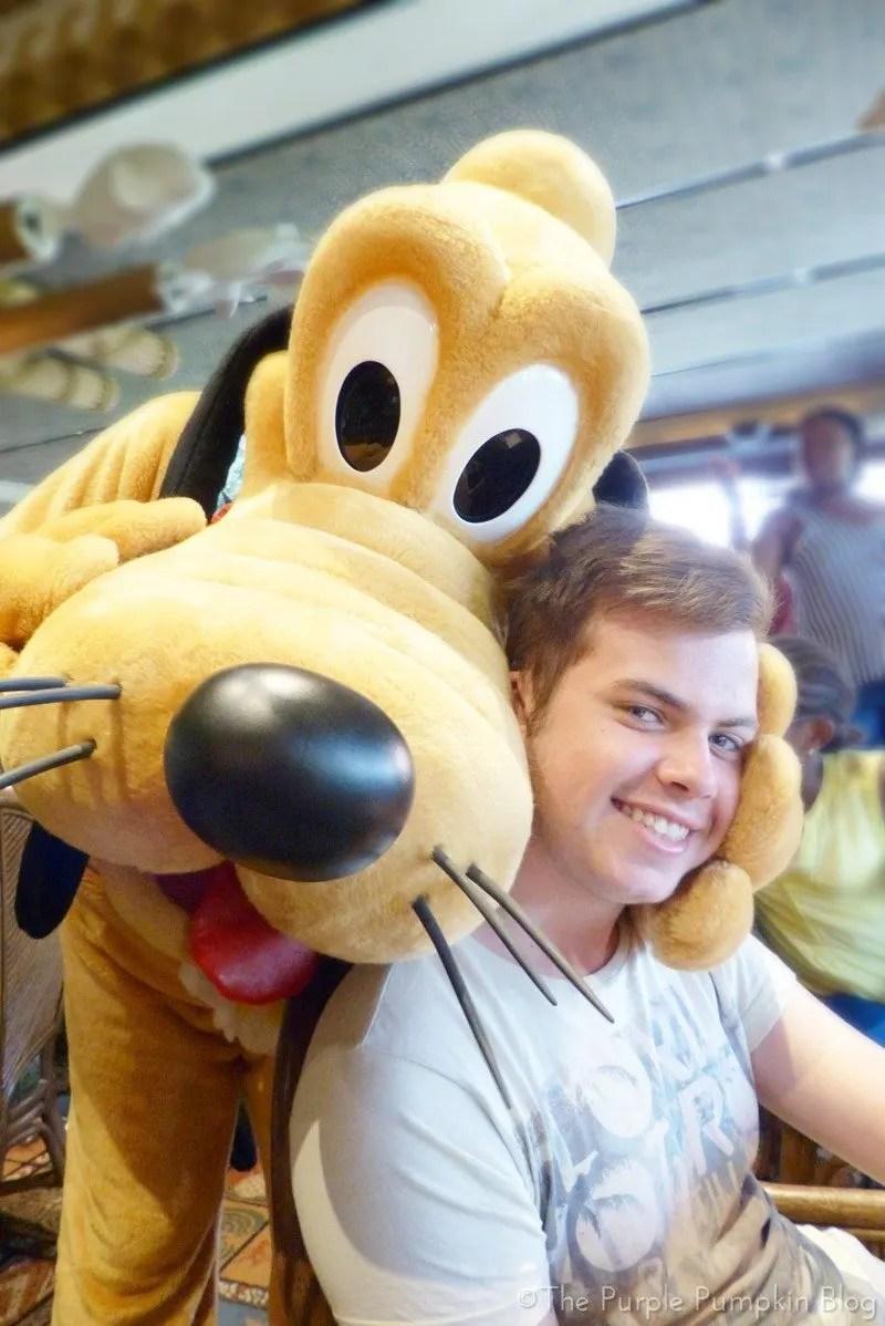 Pluto at 'Ohana Character Breakfast