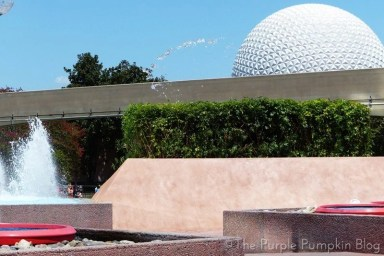 Epcot Future World Fountains