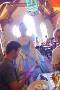 Meeting Princesses at Akershus Royal Banquet Hall