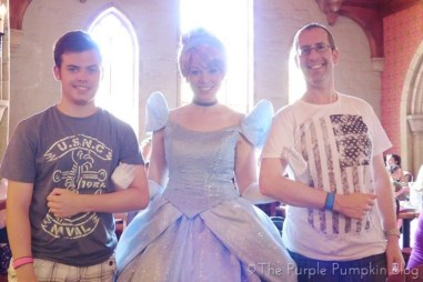 Meeting Princesses at Akershus Royal Banquet Hall