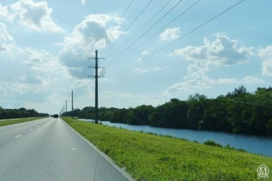 Driving home from Kennedy Space Center