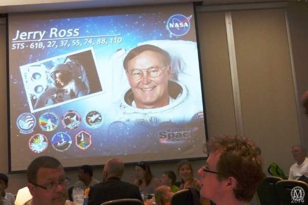 Lunch with an Astronaut at Kennedy Space Center