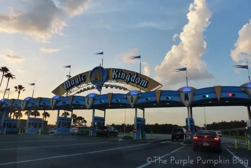 Magic Kingdom Toll Gate
