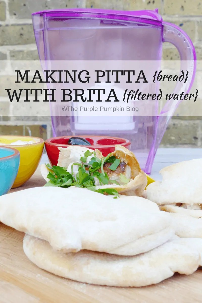Making Pitta Bread with BRITA Filtered Water