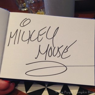 Mickey Mouse Signature