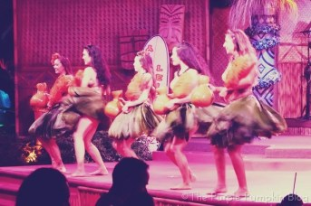 Hawaiian Hula at Spirit of Aloha Dinner Show at Disney Polynesian Resort