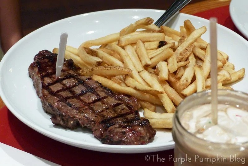 Whispering Canyon Cafe - Steak-Your-Claim Grilled New York Strip
