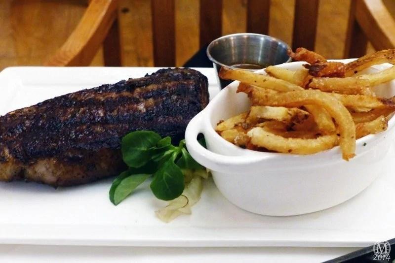 12oz Prime New York Strip Steak at Yachtsman Steakhouse
